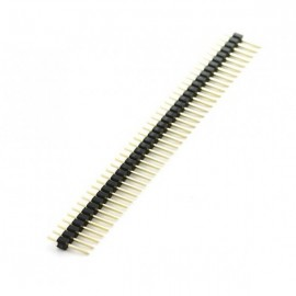 10 Pcs 40 Pin Headers - Straight контакты 10шт