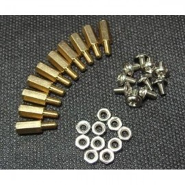 10 sets M3 * 10 hexagonal стойки крепления