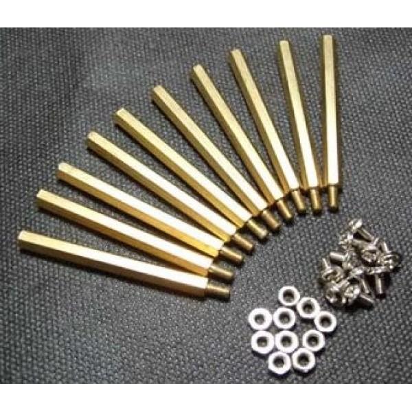 Монтажный комплект 10 комплектов M3 * 50 гексагональные стойки для Arduino