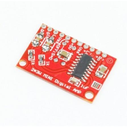 3W мини аудио стерео усилитель для Arduino