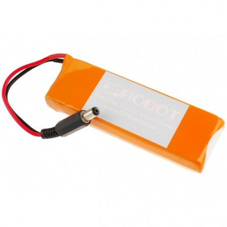 Аккумулятор 7.4V Lipo 2200mAh Battery (Arduino Power Jack)