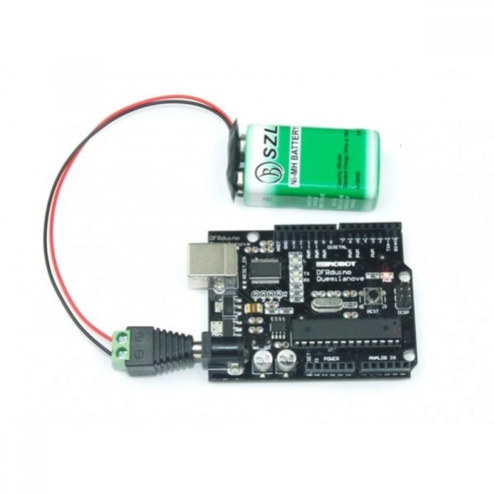 Коннектор для кроны 9В Snap Connector
