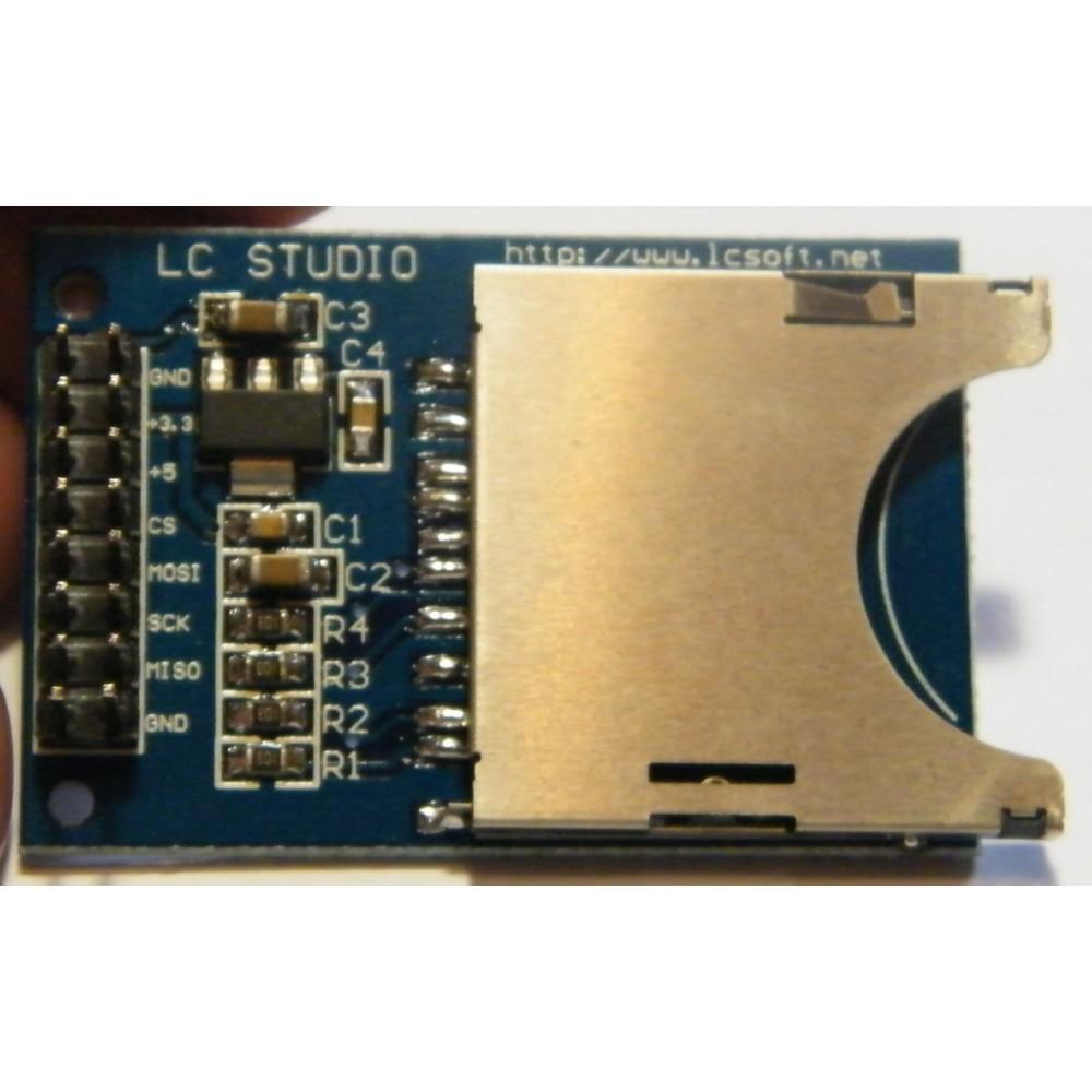 Модуль SD card reader module for Arduino ARM AVR