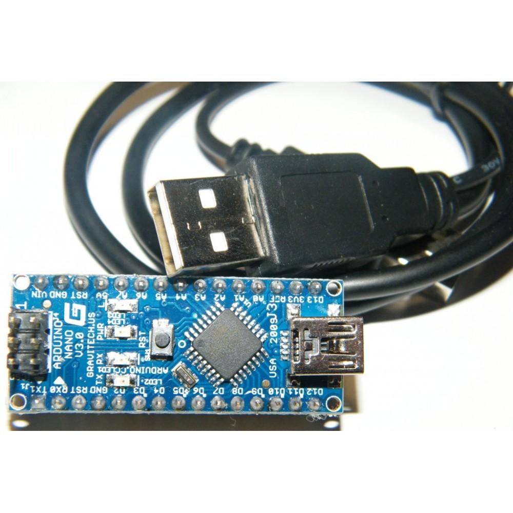 Arduino Nano V3.0 AVR ATmega328 P-20AU USB