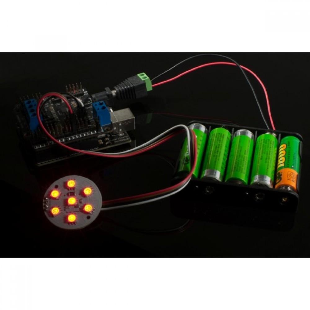 Световой диск 7 SMD RGB LED для Arduino