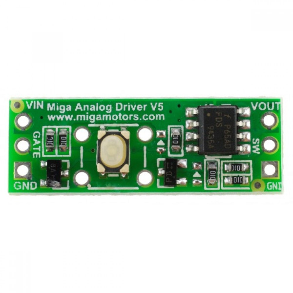 MOSFET переключатель - Miga Aualog Driver V5