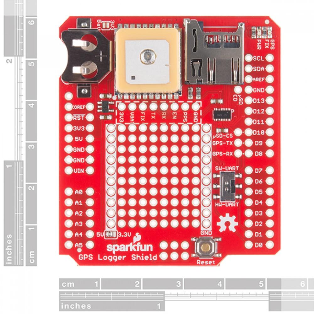 Шилд GPS Logger Shield