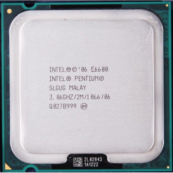 Intel Core 2 Duo E8400 vs Pentium E6600