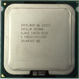 Intel Xeon X3323 2.50 GHz/6Mb/1333 (SLASE) s771