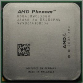 AMD Phenom X3 8450 2.1 GHz HD8450WCJ3BGH sAM2/AM2+
