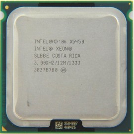 Intel Xeon X5450 3.00 GHz/12Mb/1333 (SLBBE) s771