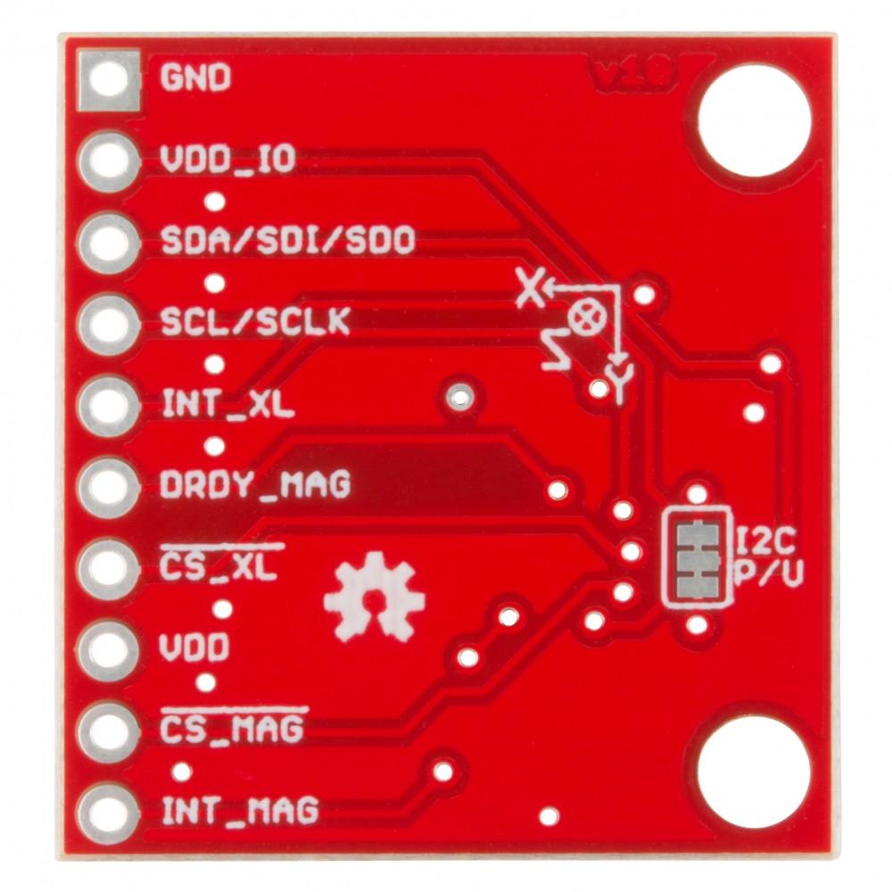 Модуль LSM303C