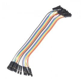 """Провода для джамперов Premium - длина 6"""" (папа-папа набор из 20)"""