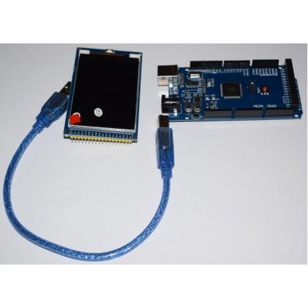 3.2 дюймовый TFT LCD экран + Arduino MEGA 2560 R3