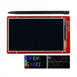 Экрана 3,2-дюйма с функцией тачскрина с стилусом