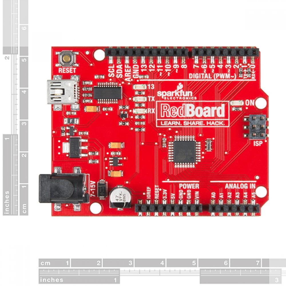 RedBoard - программирование на Arduino