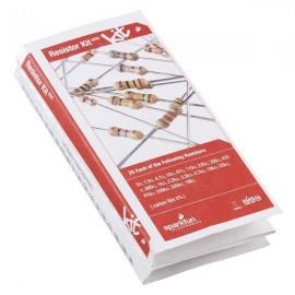 Набор резисторов - 1/4 Вт (500 штук)