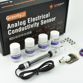 Gravity: Датчик электропроводности «Analog Electrical Conductivity Sensor / Meter(K=10)»