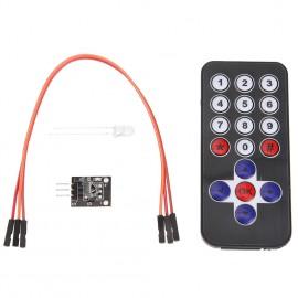 ИК-Беспроводной дистанционный пульт с модулем для Arduino, Raspberry Pi.