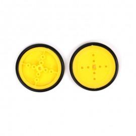 Колесо желтое 40х4мм