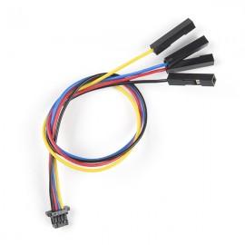 Гибкий кабель Qwiic  (4-pin)