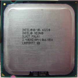 Intel Xeon E3220 3.00 GHz/8 Mb/1066 (SLACT) s775