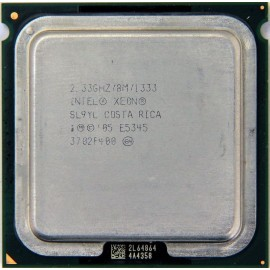 Intel Xeon E5345 2.33 GHz/8Mb/1333 (SL9YL) s771