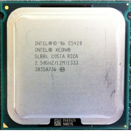 Intel Xeon E5420 2.50 GHz/12Mb/1333 (SLBBL) s771