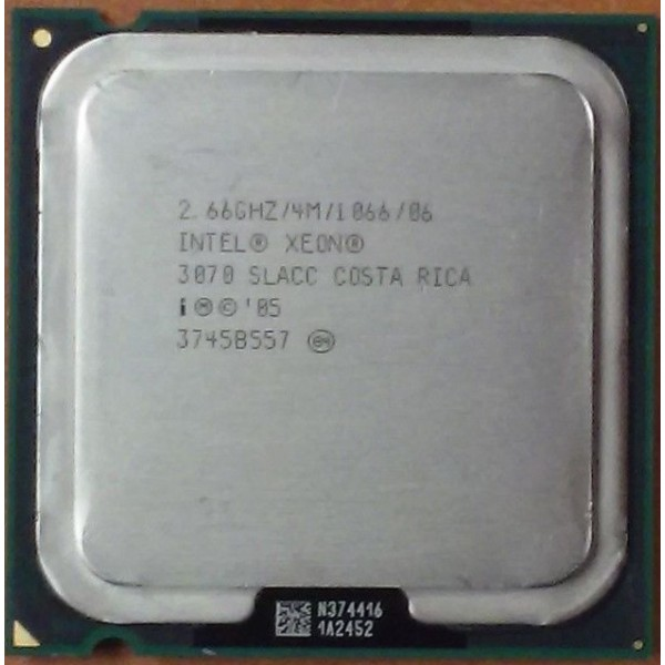 Intel Xeon 3070 2.66 GHz/4 Mb/1066 (SLACC) s775