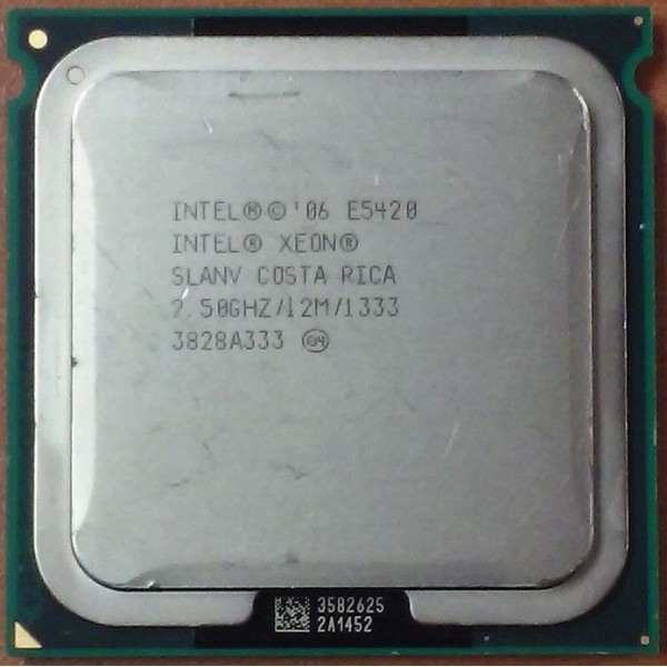 Intel Xeon E5420 2.50 GHz/12Mb/1333 (SLANV) s771