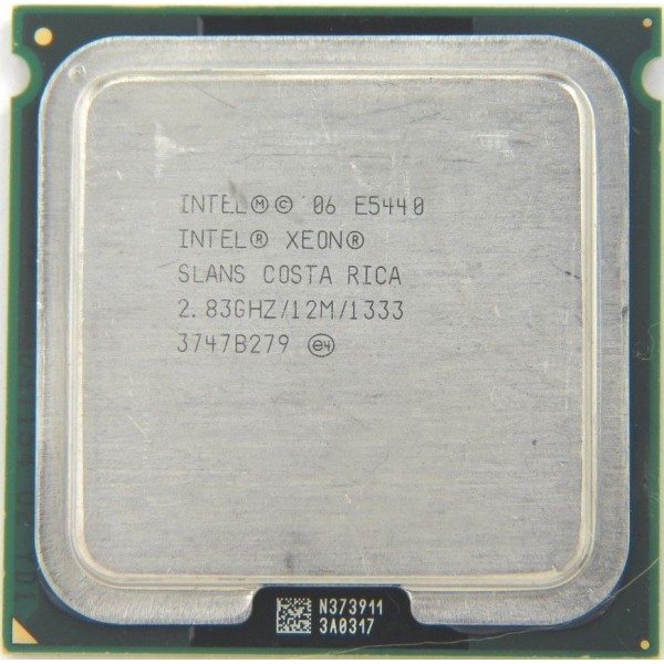 Intel Xeon E5440 2.83 GHz/12Mb/1333 (SLANS) s771