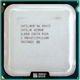 Intel Xeon X5472 3.00 GHz/12Mb/1600 (SLBBB) s771